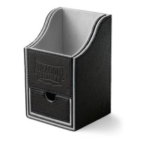Dragon Shield Nest 100+ Deck Box - Black/Light Grey - AT-40201