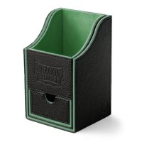 Dragon Shield Nest 100+ Deck Box - Black/Green - AT-40202