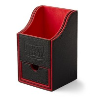 Dragon Shield Nest 100+ Deck Box - Black/Red - AT-40204