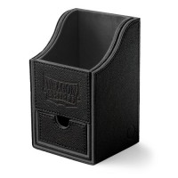 Dragon Shield Nest 100+ Deck Box - Black/Black - AT-40206