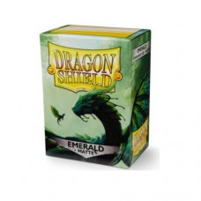 Dragon Shield 100 - Standard Deck Protector Sleeves - Matte Emerald - AT-11036